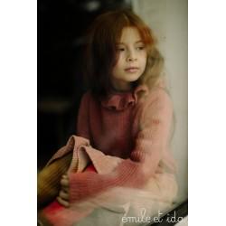 Pull Cardigan Rose Emile et Ida
