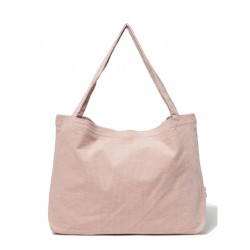 Sac Mom-Bag Pink Rib Studio Noos
