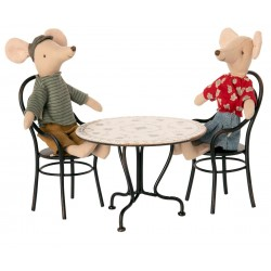 Table et ses 2 chaises Maileg