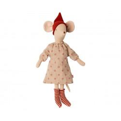 Christmas Mouse Girl Maileg