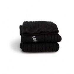 Chaussettes Femme Chamois en laine Noir intense Collégien