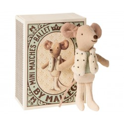 Danseur dans sa boite d'allumettes Maileg