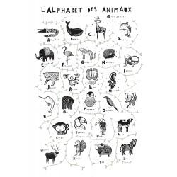 Alphabet des Animaux Wee Gallery
