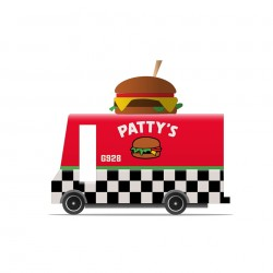 Camion Foodtruck Patty's Hamburger Candylab