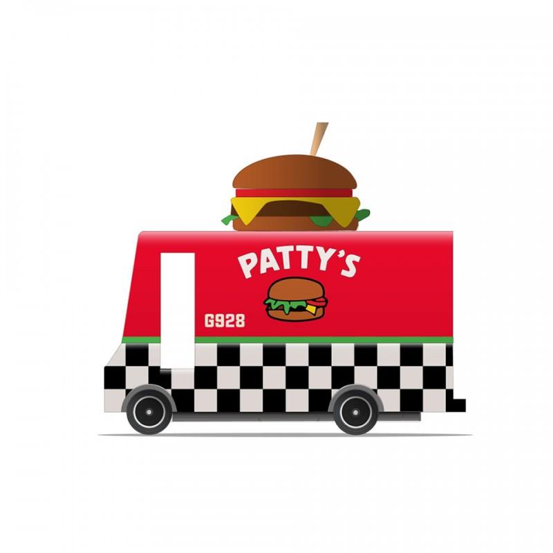 Camion Foodtruck Patty's Hamburger Candylab