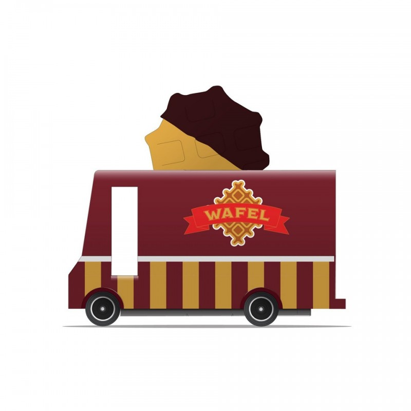 Camion Foodtruck Gaufre Candylab