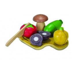 Assortiment de légumes Plan Toys PT3601