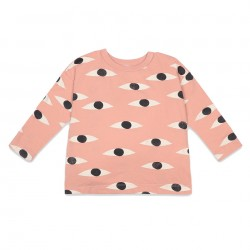 Tee-Shirt Manches Longues Eyes All Over Bobo Choses