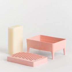 Porte-Savon Bubble Buddy Millennial Pink Foekje Fleur