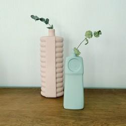 Vase 18 Dusty Mint Foekje Fleur