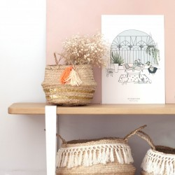 Affiche Jardin d'Hiver A5 My Lovely Thing