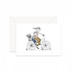 Carte Balade à Vélo Garçon My Lovely Thing