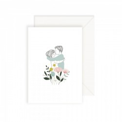 Carte Les Amoureux My Lovely Thing