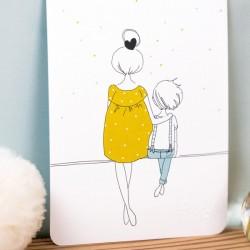 Carte Mum & Boy Summer My Lovely Thing