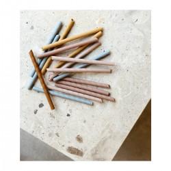 8 pailles Blue Multi Mix Liewood