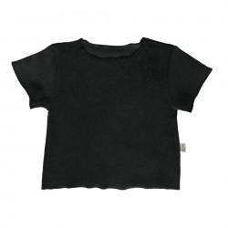 Tee-Shirt Bouleau Eponge Pirate Black Poudre Organic