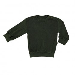 Sweat Cassandre Forest Green Poudre Organic