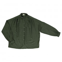 Blouse Amande Femme Forest Green Poudre Organic
