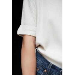 Tee-Shirt Marjolaine Femme Almond Milk Poudre Organic
