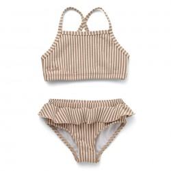 Maillot Bikini Norma Seersucker Tuscany Rose Liewood