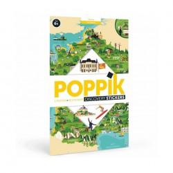 Poster France Poppik