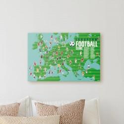 Poster Le Football Poppik
