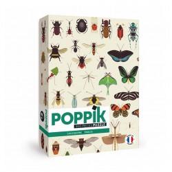 Puzzle Insectes 500 Pièces Poppik