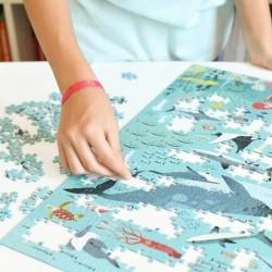 Puzzle Océans 500 Pièces Poppik