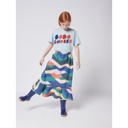Tee-shirt Bleu Bobo Choses