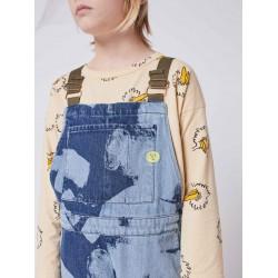 Tee-shirt Bleu Bobo Birdie Manches Longues