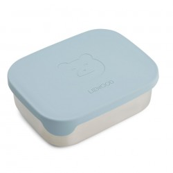 Lunch Box Arthur Bear Sea Blue Liewood