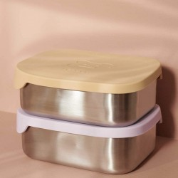 Lunch Box Arthur Bear Yellow Liewood