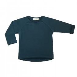 Tee-shirt manches longues bleu canard Phil & Phae