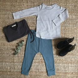Cardigan boutonné gris graphite Phil & Phae
