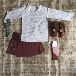 Jupe brun roux Phil & Phae