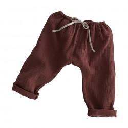 Pantalon baggy Liilu chestnut