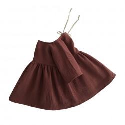 robe Liilu chestnut