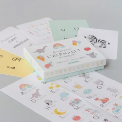 Coffret j'apprends l'alphabet en images Zü