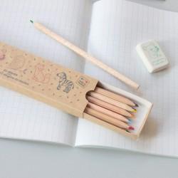 Crayons de couleur écologiques animaux Zü