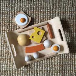 Plateau de petit-déjeuner Plan Toys PT3415