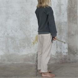 Pantalon texturé lait d'amande Phil & Phae 191213