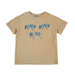 Tee-shirt Beige Fresh Dinosaurs