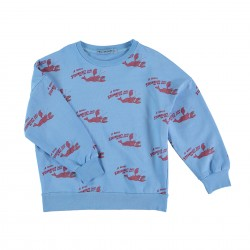 Sweat Bleu Homard Fresh Dinosaurs