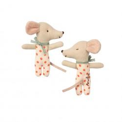 Petite souris à pois dans sa boite Maileg 16-9710-01