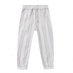 Pantalon rayé Rylee + Cru