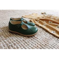 Babies Dottie Pea Green Young Soles