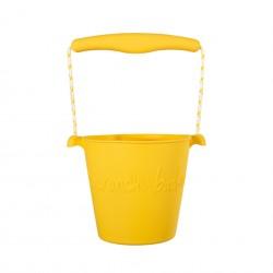 Seau Jaune clair Scrunch Bucket Buttercup Yellow