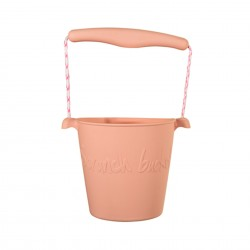 Seau Rose Blush Scrunch Bucket
