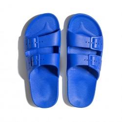 Claquettes bleues Moses
