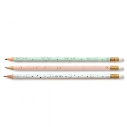 Lot de 3 crayons Zü